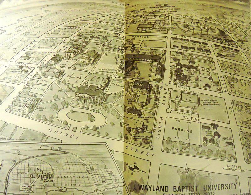 WBU early map