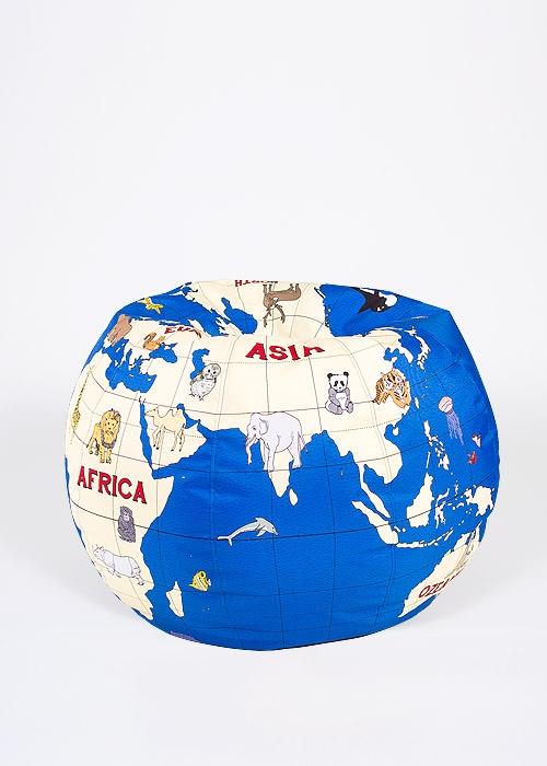 Kids-globe-bean-bag