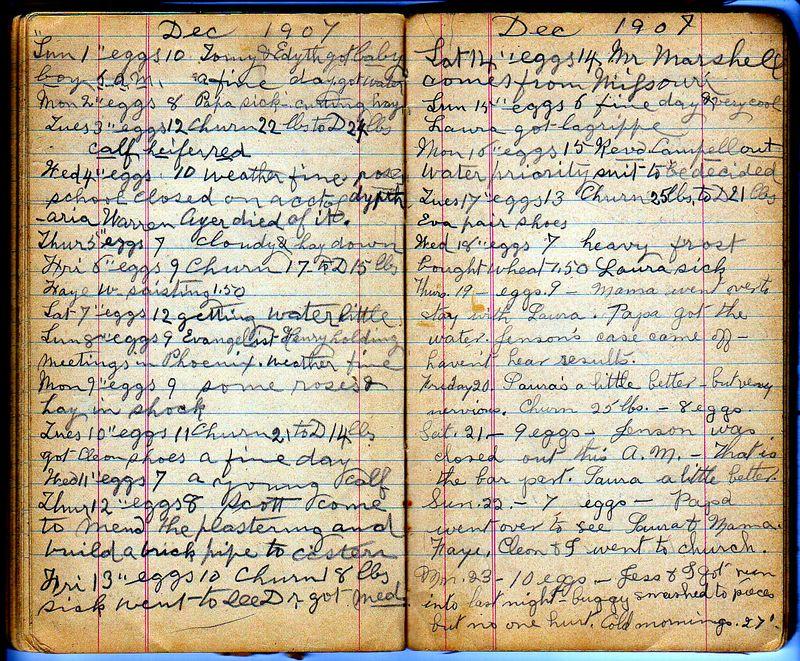 Ellen's Diary pg122,123