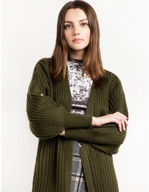 Olive-balloon-sleeve-cardigan-25801