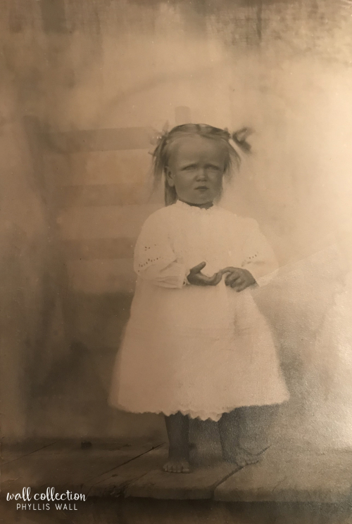Lucy May Etter 1911 one and half