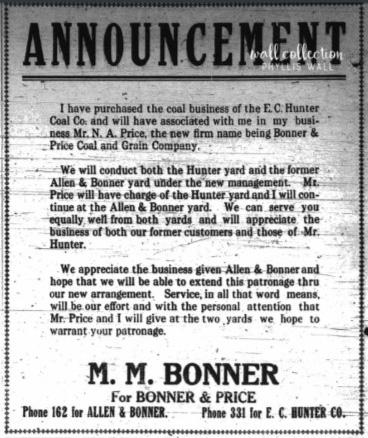 Bonner Price 1919 2e