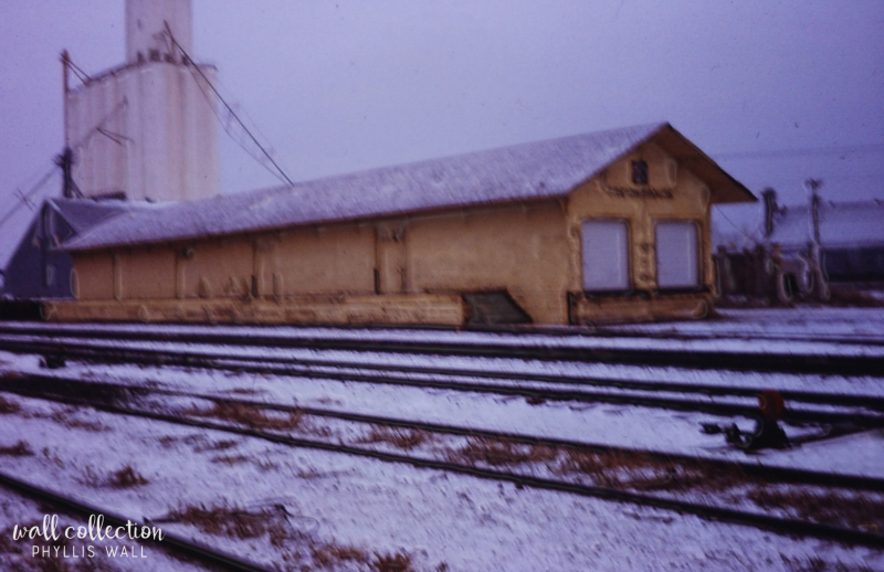 Snow train station Plainview 1