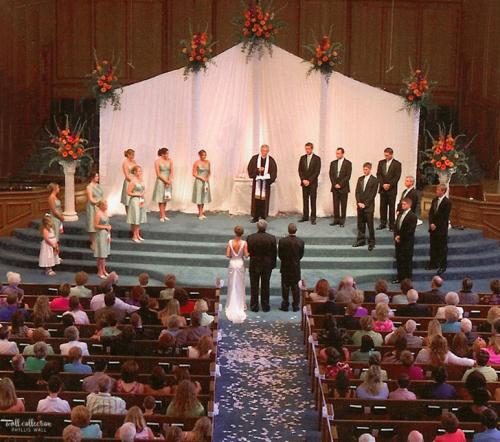 Wedding backdrop 2e