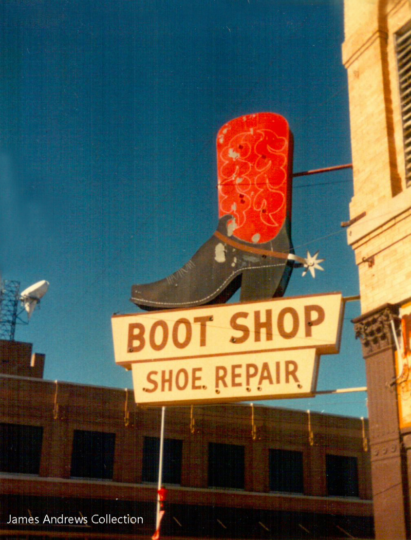 Model Boot Shop 2 J Andrews Collection