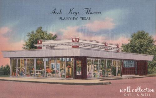 Arch Keys Flowerse