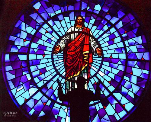 FBC Stained Glass w B
