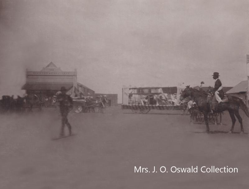 8 Mrs. J.O. Oswald 1st Pioneer ParadeO
