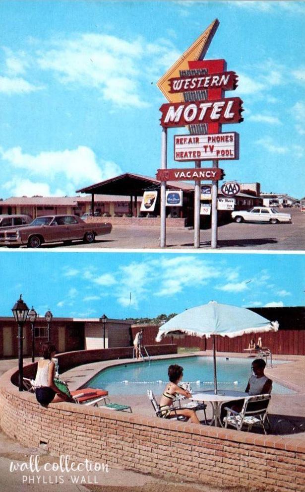 Western Motel Pool