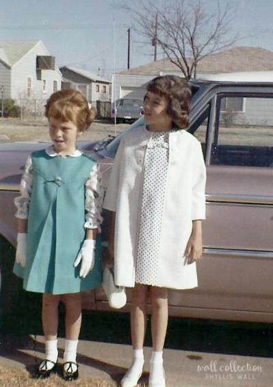 Debby & Phyllis Easter 1964
