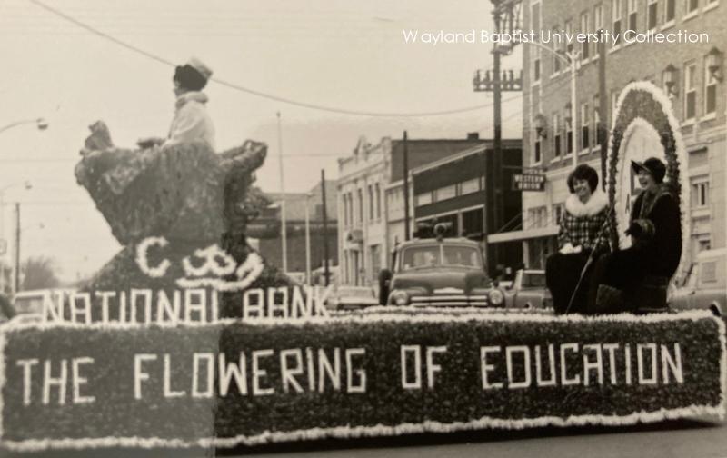 Wayland parade downtown