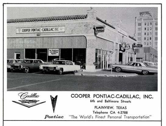 1965 Cooper pontiac-Cadillace
