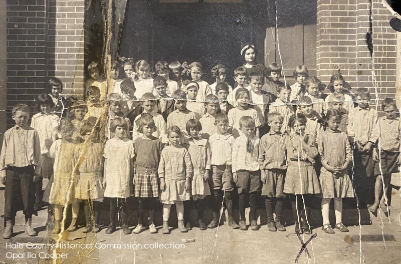 Opal Ila Cooper Lamar School early 1900es