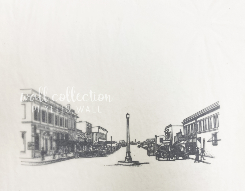Early Downtown plainview Sketch