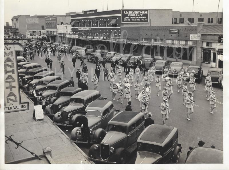 1936 Downtown TCU Band paradee