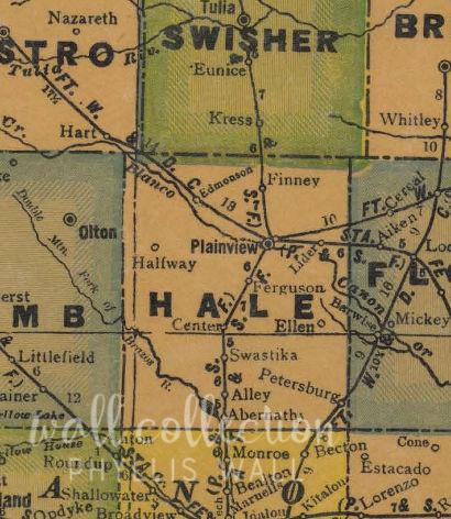 Hauling Cotton South plains to Plainview texaso