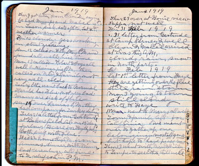 Ellen's Diary p12 13