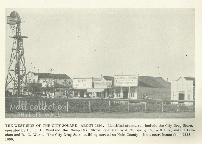 West side of square about 1893