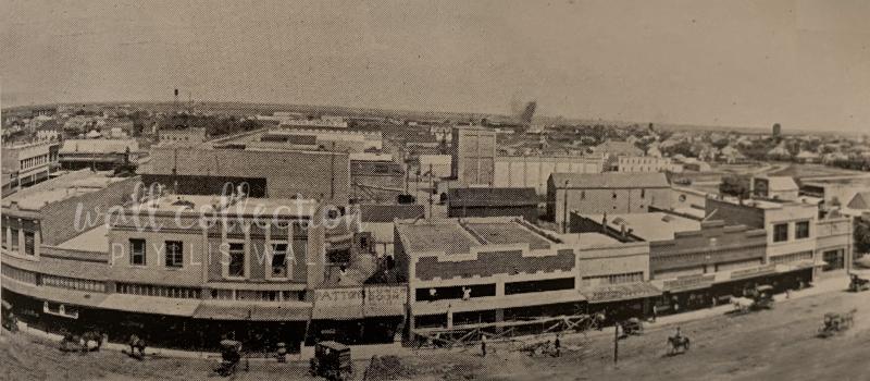 1916 Seth Ward Yearbook Broadway 500 Block