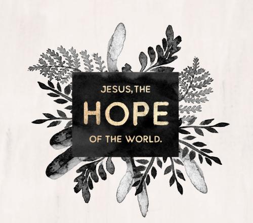 Christian-Christmas-greetings-Jesus-Hope-of-the-World-Portrait